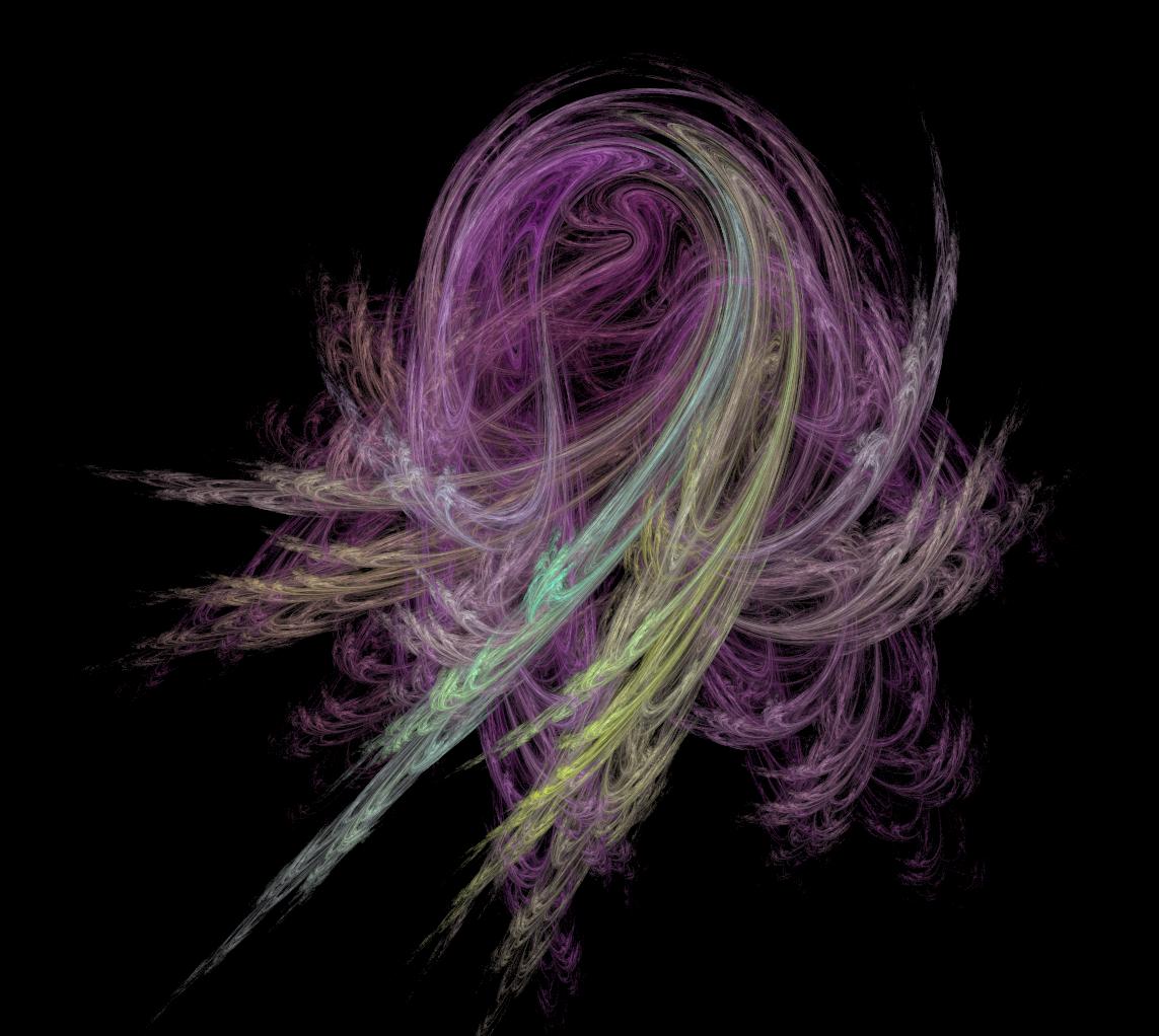 Fractal Flame, 'Horseshoe' Variation